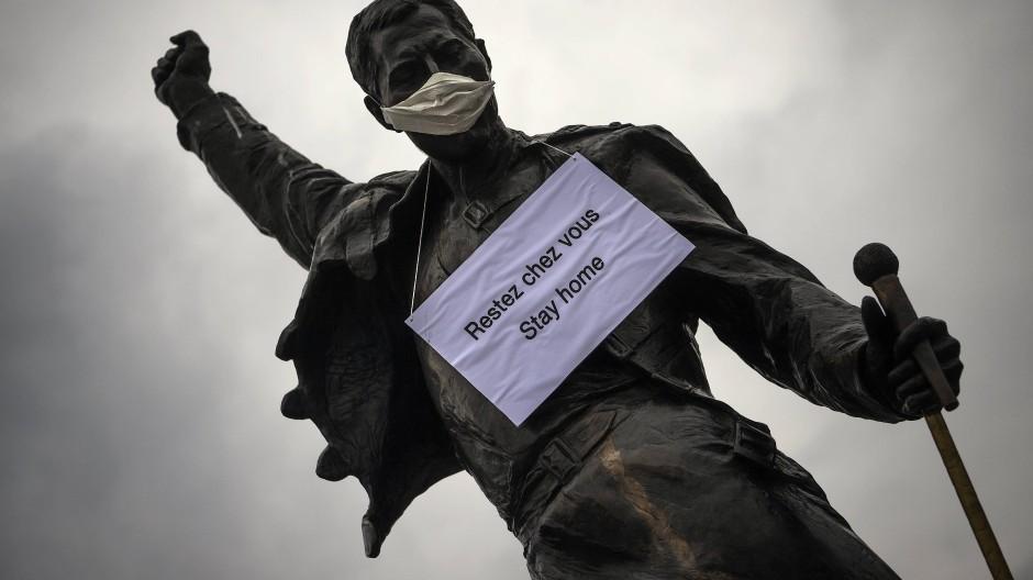 Bleibt zu Hause: Alle zusammen gegen das Virus