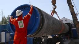 Repräsentantenhaus beschließt Sanktionen wegen Nord Stream 2