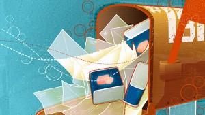 E-Mail zum Wegwerfen