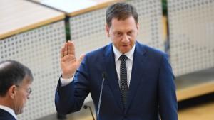 Landtag wählt Kretschmer zum Ministerpräsidenten