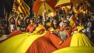 Demo für die Einheit Spaniens am Sonntag in Barcelona