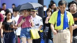 Tokios verzweifelter Kampf gegen die Hitze
