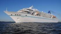 """So sieht sie ganz ruhig aus: Die """"MS Amadea"""" dient jetzt als Kulisse fürs Traumschiff."""