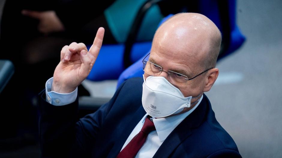 Ralph Brinkhaus verdrängte im September 2018 Volker Kauder als Fraktionschef der Union.