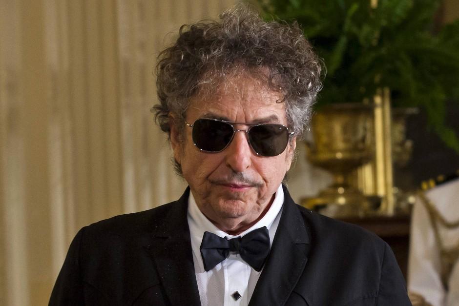 """Konnte """"leider"""" nicht kommen: Bob Dylan."""