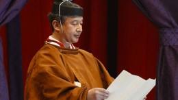 Japan feiert Thronbesteigung von Kaiser Naruhito