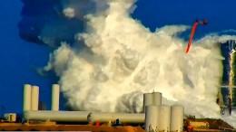Testrakete von SpaceX explodiert