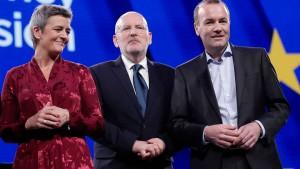Das war die TV-Debatte zur Europawahl