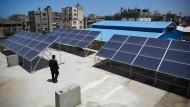 Gaza setzt auf Solarkraft