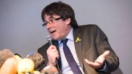Spanien hofft auf Puigdemonts Auslieferung