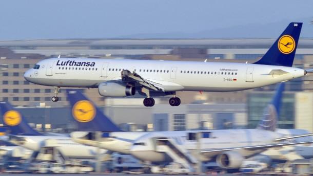 Streik am Flughafen Frankfurt