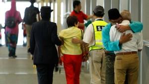 Ungläubiges Entsetzen in Kuala Lumpur