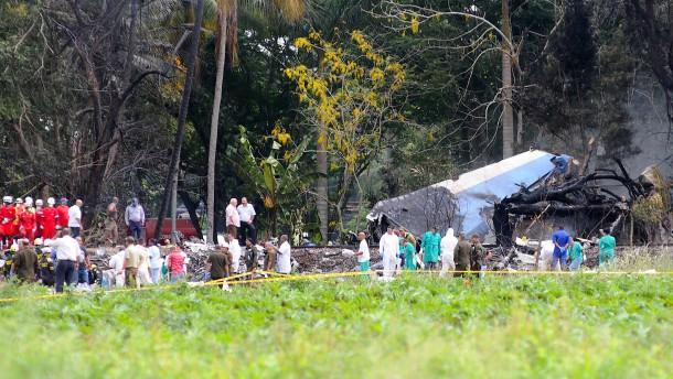 Ermittler finden Flugschreiber nach Absturz auf Kuba