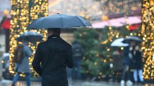 Das Weihnachtswetter wird trüb und mild