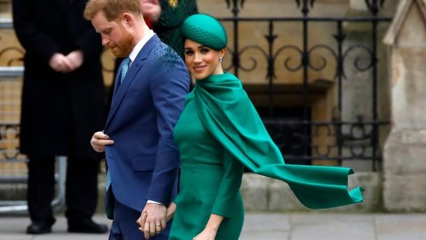 Harry und Meghan wollen britische Boulevardblätter boykottieren