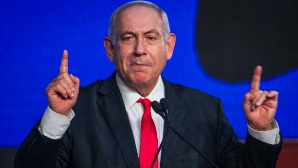 """Netanjahu: """"Das Land braucht eine stabile Regierung"""""""