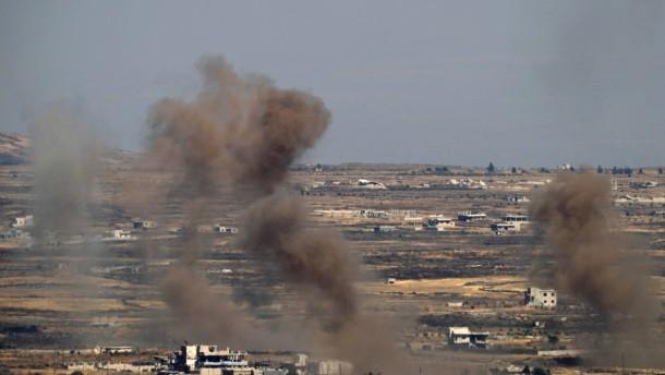 Israelische Luftwaffe greift wieder syrische Ziele an