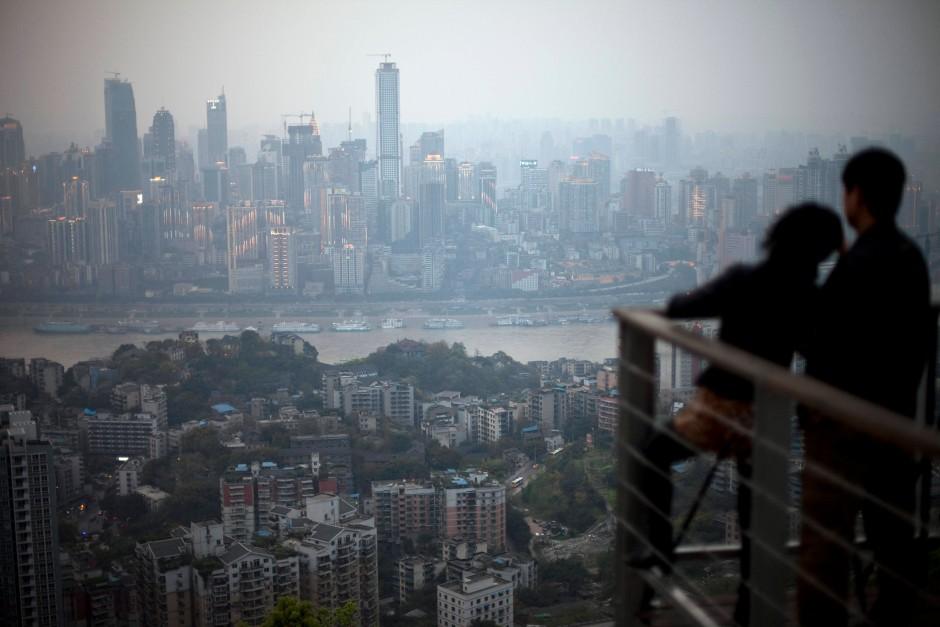 Ausgangspunkt von Bos Aufstieg: die Metropole Chongqing