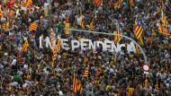 """Unabhängigkeit: Barcelona am """"Tag der Katalanen"""""""