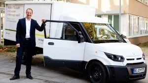 Saubere Autos für britische Milchmänner