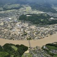 Das japanische Hitoyoshi ist massiv geflutet.