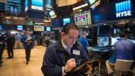 Auf Rekordjagd: Blick in den Handelssaal der New Yorker Börse