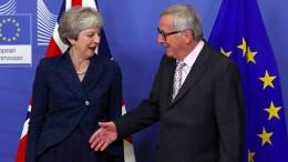 EU gibt grünes Licht für Brexit-Vertrag