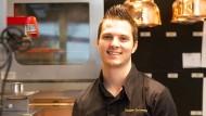 Begeisterungsfähig: Küchenchef Daniele Tortomasi