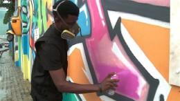 Graffiti verschönern Lagos