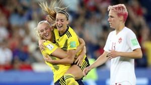 Deutschland tritt im Viertelfinale gegen Schweden an