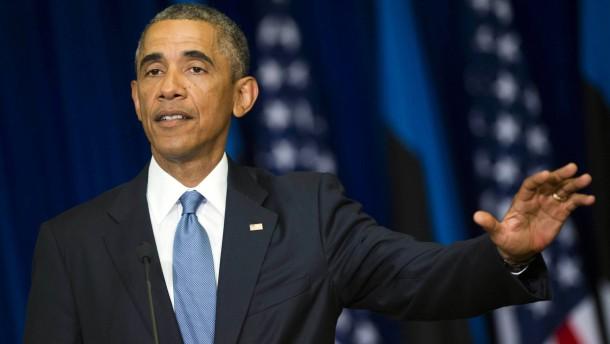 """Obama will """"Islamischen Staat"""" """"zerstören"""""""