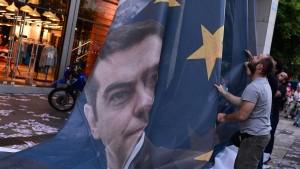 Tsipras' Stellvertreter reist mit Delegation nach Brüssel