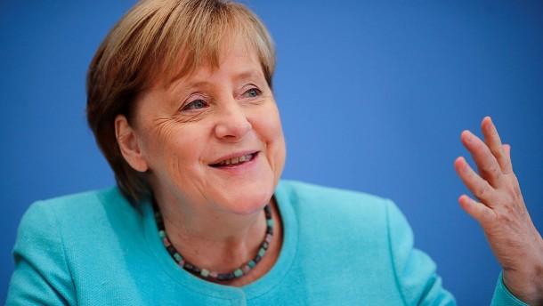 Merkels Wagnis