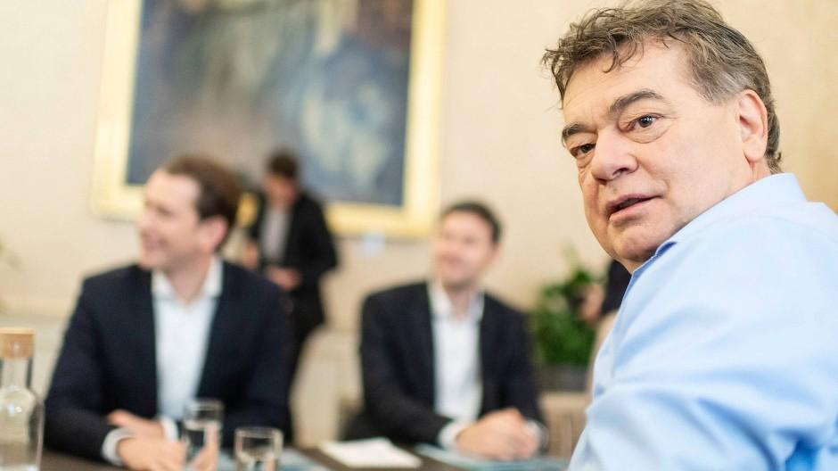 Sie machen's: Der Grünen Vorsitzende Werner Kogler und seine Partei geht in Koalitionsverhandlungen mit der ÖVP.