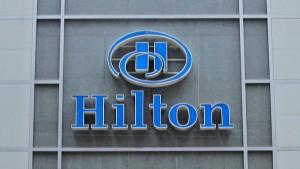 Hilton hat einen guten ersten Handelstag