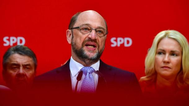 SPD-Kanzlerkandidat Schulz gibt Fehler zu