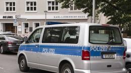 Parteizentrale der Linken nach Bombendrohung geräumt