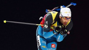 Franzose Fourcade schreibt Biathlon-Geschichte