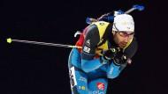 Nicht aufzuhalten: Martin Fourcade gewinnt wieder souverän den Gesamt-Weltcup