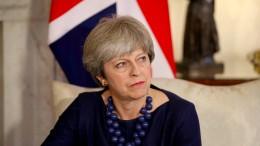 Offenbar islamistischer Mordanschlag auf Theresa May verhindert