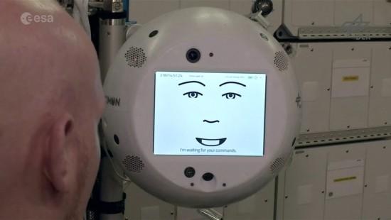Roboterplausch für Alexander Gerst