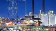 Bayer-Werk in Leverkusen