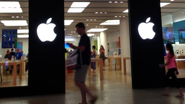 Die neuen Apple-Aktien