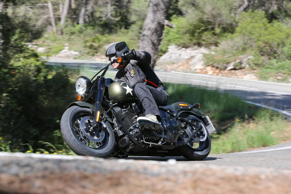 Harley Davidson Softail Trittbretter