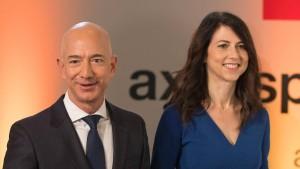 MacKenzie Bezos bringt die Scheidung 36 Milliarden Dollar ein