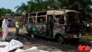 Mehr als 30 Kinder sterben bei Busbrand in Kolumbien