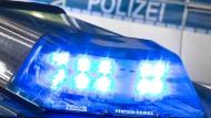 Bericht wird geprüft: Die Polizei überprüft die Aussage einer 45 Jahre alten Frau, nach der sie an einer Treppe gestoßen wurde und stürzte.