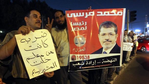 Tausende Ägypter feiern Entmachtung des Militärs