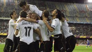 Valencia und Sporting im Halbfinale