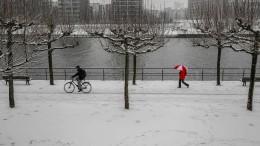 Der Winter bringt Schnee und Matsch